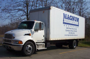 Magnum Powder Coating Truck