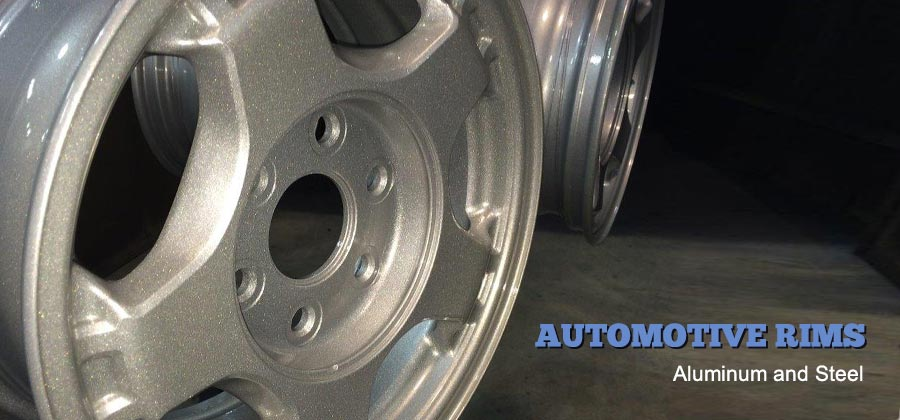 Automotive rims – Aluminum and Steel